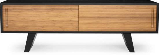 TV unit design Wasabi Ming en black